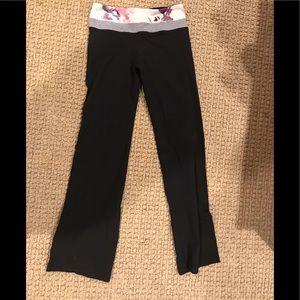 Lululemon boot-cut leggings